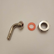 90 Degree Bend Pin With Washer And Nut For Beer Tap Faucet,Keg coupler Or Shank,Beer Tap Accessories. bally косметичка