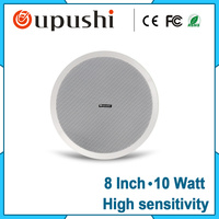 Factory Wholesale Pa System 10w Speaker Passive 8 Inch Ceiling Speaker