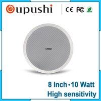 Factory Wholesale Pa System 10w Speaker Passive 8 Inch Ceiling Speaker