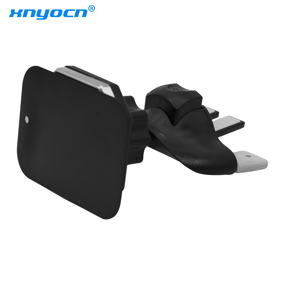 360 Degree Rotating Universal Magnetic Car Phone Holder Car CD Slot Air Vent Mount Stand Bracket for IPhone 7 for Samsung S4 S5