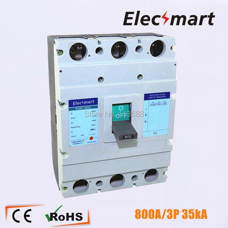 700A 3P moulded case circuit breaker high breaking capacity mccb-in ...