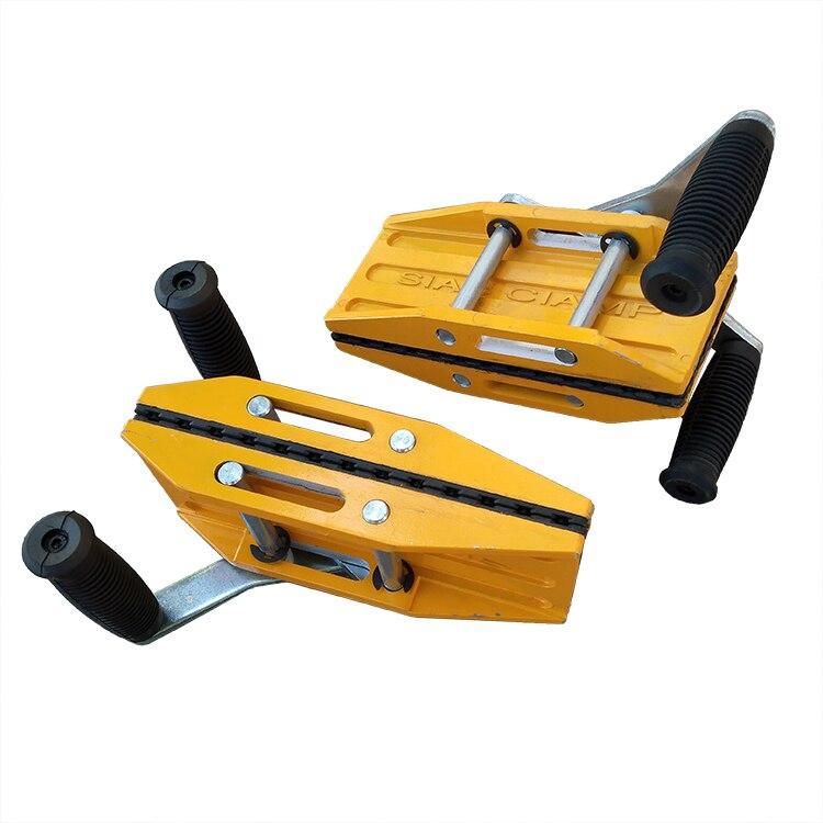 Magic clamp stone lifting carry slab granite scissor clamp handling equipment – 2sets /lot