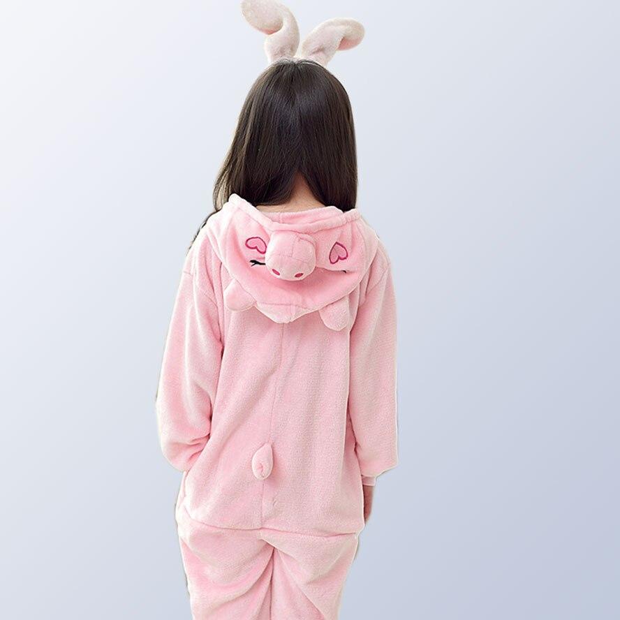 Baby Jungen Mädchen Pyjamas Warme Herbst Winter Kinder Korallen Fleece Niedlichen Tier Cartoon Pyjamas Für Kinder Pijamas 3 5 7 10 12 Jahre Weich Und Leicht