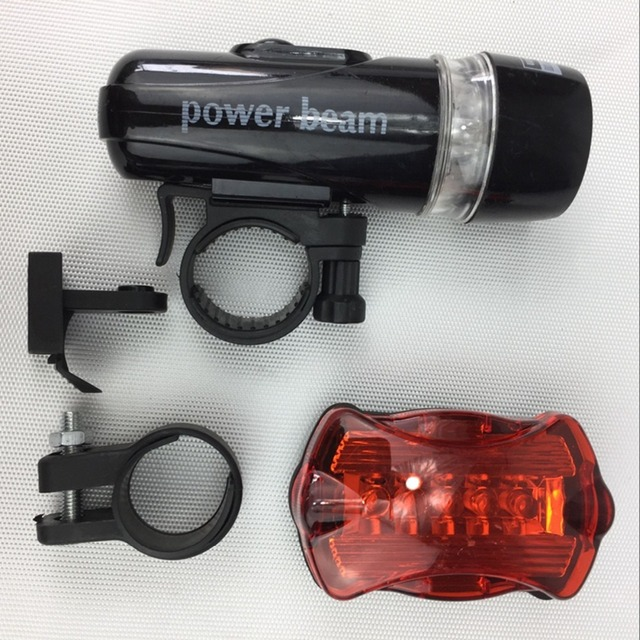 Waterproof Bike Front Tail Light Set cycling Bicycle accessories with Headlight Taillight Rear Lamp LED bicicleta Battery