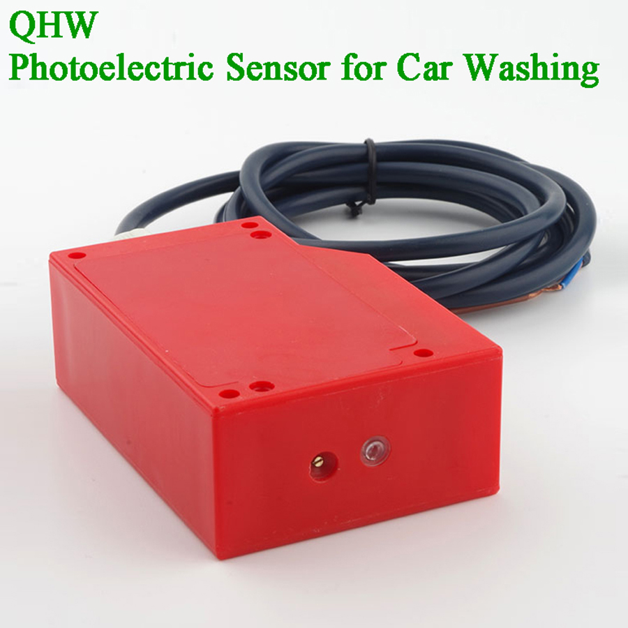 5m 3L PNP NO Object Detect Photocell  Garage Door Sensor Diffuse Reflective Photoelectric Switch Infrared Motion Sensor