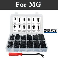 240pcs Car Styling Push Retainer Kit Clip Panel Body Assortment Set Storage Case For Mg 3 350 5 550 6 Gs Tf Xpower Sv Zr Zs Zt