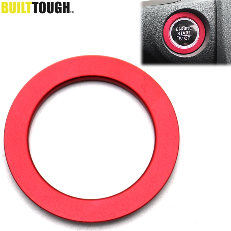 New Aluminum Engine Start Stop Button Cover Trim For Honda Civic 2016-2019 Red