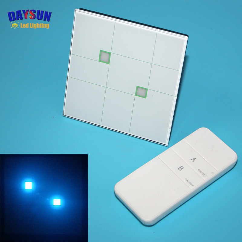New Smart Home Touch Switch 2 Gang 2 Way Luxury White Crystal Glass Touch Screen Wall Switch 86*86mm High-end Hotel Light Switch smart home eu touch switch wireless remote control wall touch switch 3 gang 1 way white crystal glass panel waterproof power