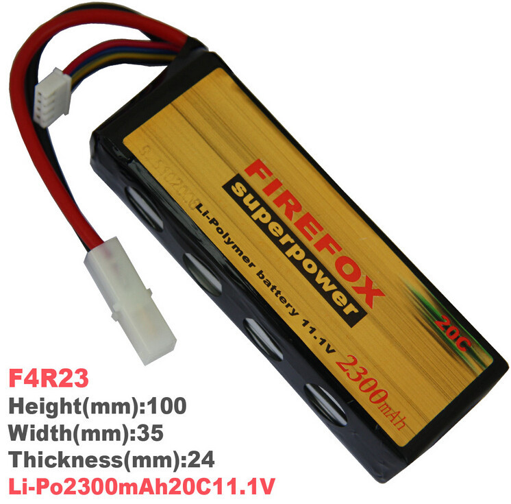 1pcs 100% Orginal FireFox 11.1V 2300mAh 20C Li Po AEG Airsoft Battery F4R23 Drop shipping 1pcs 100% orginal firefox 7 4v 1600mah 20c li po aeg airsoft battery f2r16t drop shipping