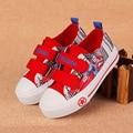 Venta caliente Niños Superman Zapatos de 2016 Nuevos Muchachos de Las Muchachas Niños de Navidad/Halloween Zapatos Tamaño 24-33 Zapatillas de deporte de Moda CS-054