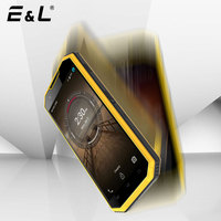 E&L W7 Original Mobile IP68 Waterproof Shockproof Smartphone 5.0 Inch IPS HD Quad-Core Android 4G Rugged Touch Phone Unlocked