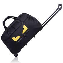 Новое поступление высокое качество Водонепроницаемый Voyage Sacs на Roues сумка тележка подвижного сумка Водонепроницаемый Ткани унисекс Багаж Сумки