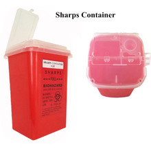 Pro 1QT Red Medical Tattoo Sharps Container Infectious Waste Box Storage Supply — TA-114R