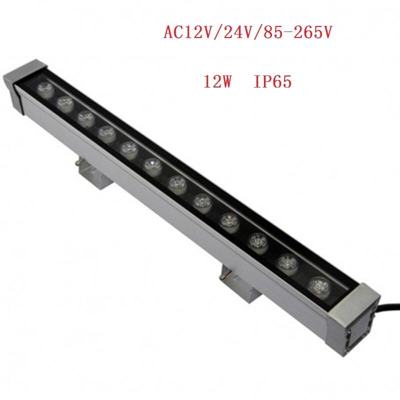 50cm 12W High-power 12V-24V/85-265V 12W LED Wall Washer light Blue/Green/Red/Warm/Cold/RGB/ LED landscape / decorative lighting