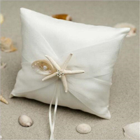Wedding Accessories Starfish Square Ring Pillow Detalles Boda Wedding Decoration Wedding Supplies Event Party Supplies