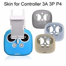 Remote Control Silicone Protection Cover Case Skin Anti slip for DJI Phantom 3 Professional/Advanced Phantom 4 Drone 3A 3P P4