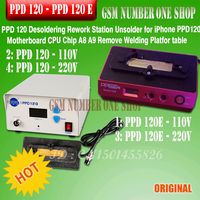 PPD 120e Desoldering Rework Station Unsolder For IPhone PPD 120 Motherboard CPU Chip A8 A9 Remove