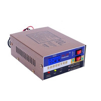 Wholesale 12V 24V EU Plug Car Battery Charger Motorcycle Battery Charger Lead Acid Battery Charger 110V