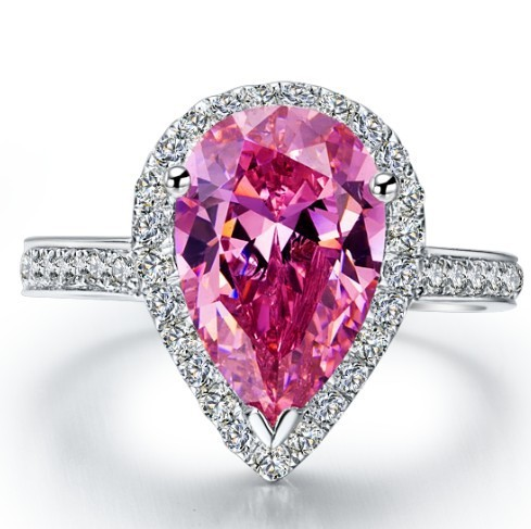 Online Get Cheap Pink Engagement Ring Aliexpresscom Alibaba Group