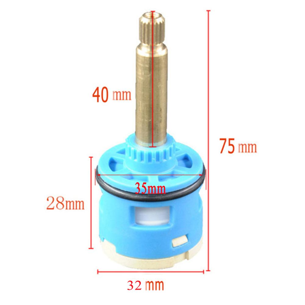 POIQIHY Faucet Diverter Cartridge Valve Switch Mixer Ceramic Spool 2 Way 3 Way Catridge For Kitchen Basin Bathroom Faucet Valve