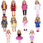 11 Kinds of Styles New Year Our Generation Holiday Doll Uniforms Doll Accessories For 18inch American girl doll Any 43cm Doll