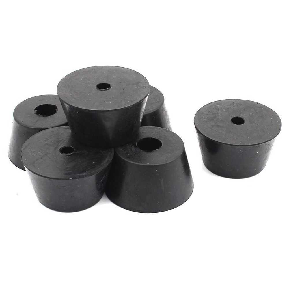 Резиновая крышка фурнитура для стола стула ноги колодки 40 мм x 30 мм x 22 мм 6 шт