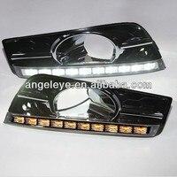 Dla Cruze 10 sztuk LED Mgła Lampa LED Do Jazdy Dziennej Światła Przeciwmgielne z Kolei światła 2009-2012 rok V5