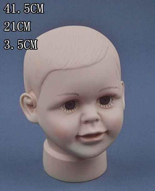 Манекен ребенка стенд головы мальчика прическа кукла парикмахерские головок Дисплей манекена парик Дети Глава прически манекен paspop
