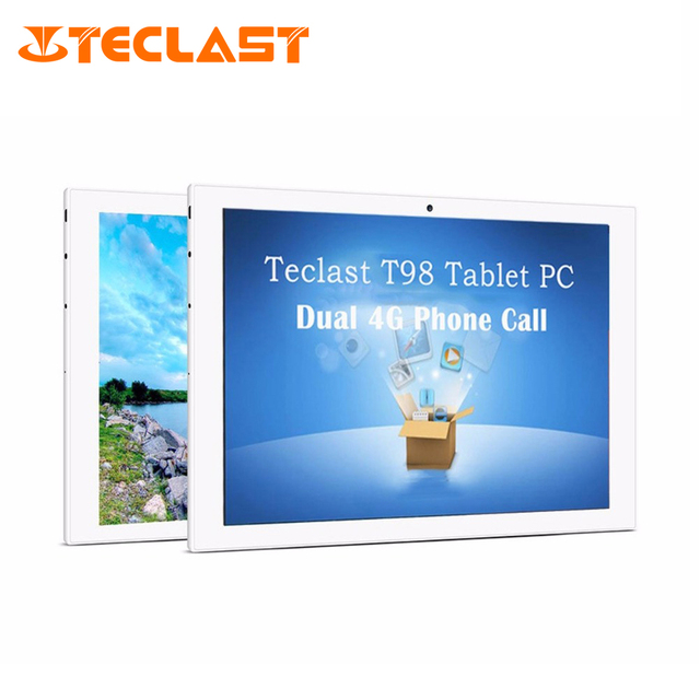 Teclast T98 4 Г MTK8735 Phablet Android 5.1 Quad Core 1 ГБ RAM + 16 ГБ ROM Двойная Камера Bluetooth OTG IPS Экран 10.1 дюймов Tablet PC