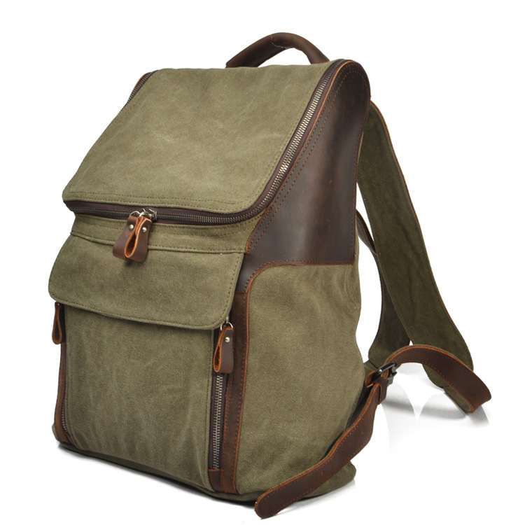 Muchuan Cloth Canvas Both Shoulders Package European Restore Ancient Ways Men And Women Backpack Crazy Horsehide Leisure Time  muchuan cloth 2014 european restore ancient ways trend man single shoulder package diagonal package ma am leisure time package