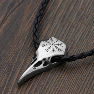 cagedfinch Stainless Steel Pendant Necklace Chain Jewelry