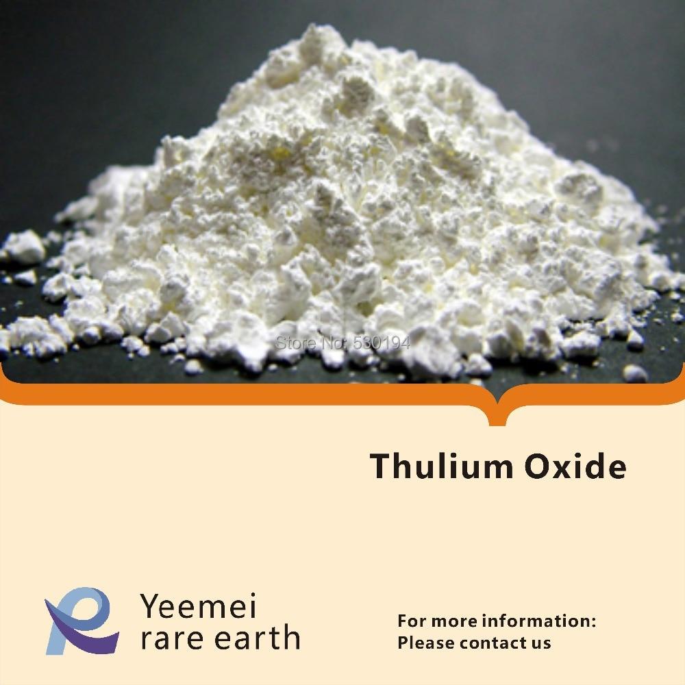 Thulium oxide - 99.99% - Tm2O3 rare earth metal oxide zinc oxide and manganese doped zinc oxide nanoparticles