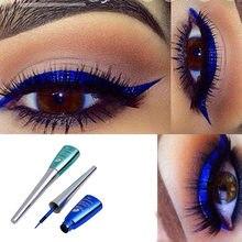 Cmaadu Kleurrijke Vloeibare Eyeliner Blauw Waterdichte Langdurige Vloeibare Eyeliner Diamant Matte Eyeliner Gel Cosmetica HF153