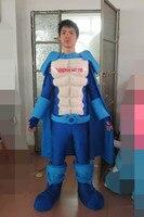 Высокое качество индивидуальный дизайн взрослых Мышцы костюм талисмана (мужчина) праздник парад клоуны дни рождения для животных Хэллоуин