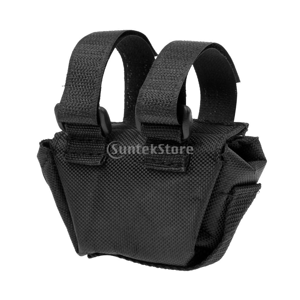 Nylon Case Holster Holder Storage Bag Pouch for Outdoor Camping Hiking Backpacking Bike Head Light 4 x 18650 Battery Pack стоимость