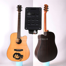 High End 41 Acoustic Guitar,Solid Spruce Top/Rosewood Body,Drawing carving Top, guitars china With Hard case цена