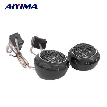 AIYIMA 2Pcs Audio Portable Speakers T280 Car Tweeter Speaker 4 Ohm 35W Loudspeaker image