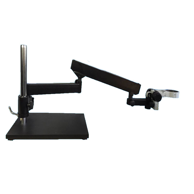 Articulating Stand Zoom Microscope table stand for industrial stereo microscope trinocular /binocular