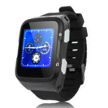 ZGPAX 3G Uhr Telefon Bluetooth Smart Watch Armbanduhr mit 3.0MP HD Kamera GPS FM Android 5.1 Smartwatch für Android IOS telefon