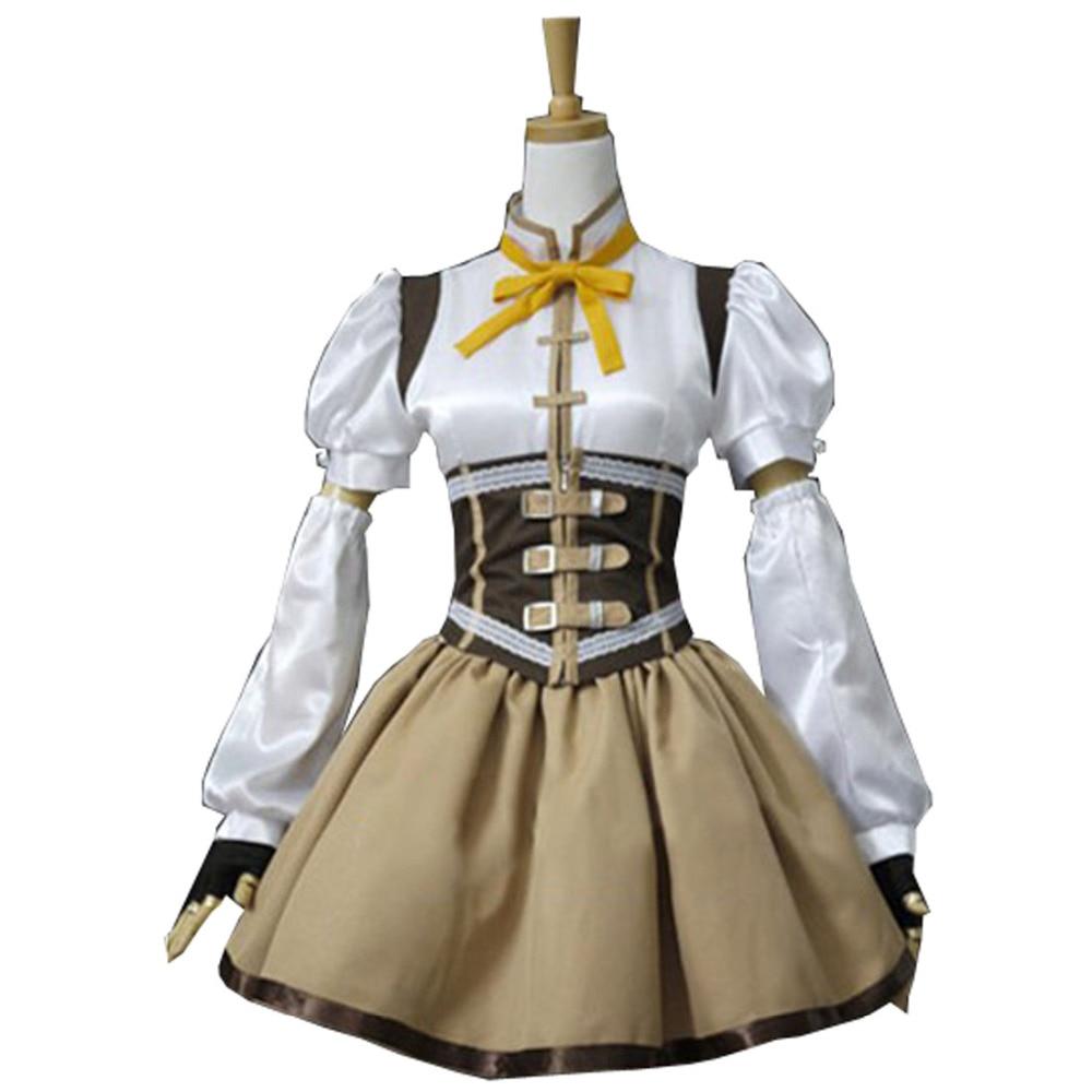 ヾノ2017 Tomoe Mami Costume Puella Magi Madoka Magica Tomoe
