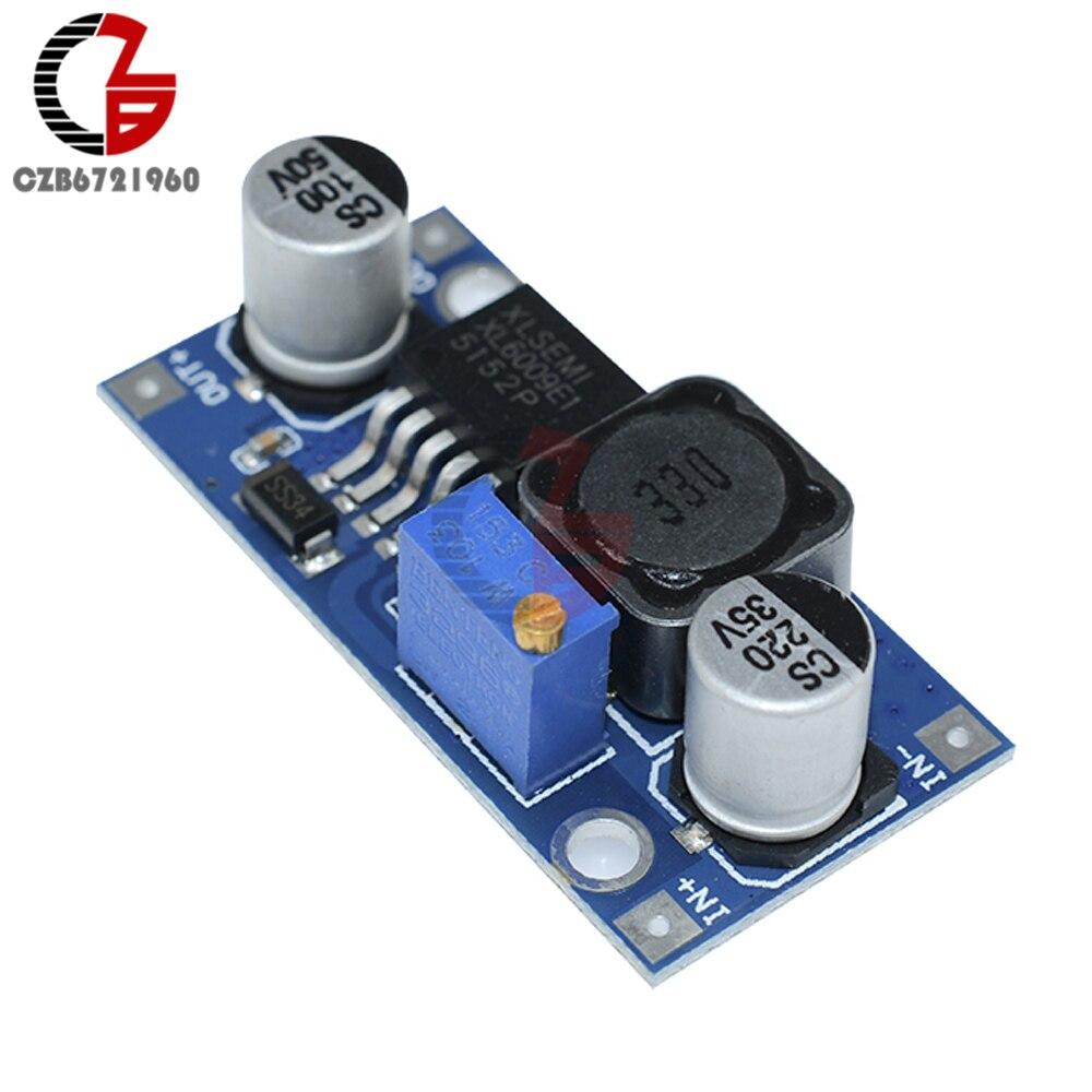 Xl6009//lm2577 step up modulo DC-DC Convertitore Regolatore di tensione regolabile Arduino