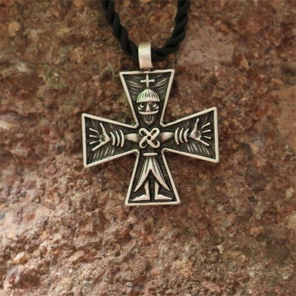 1pcs Wholesale Cross Pagan Pendant Men Crucifix Necklace Combining