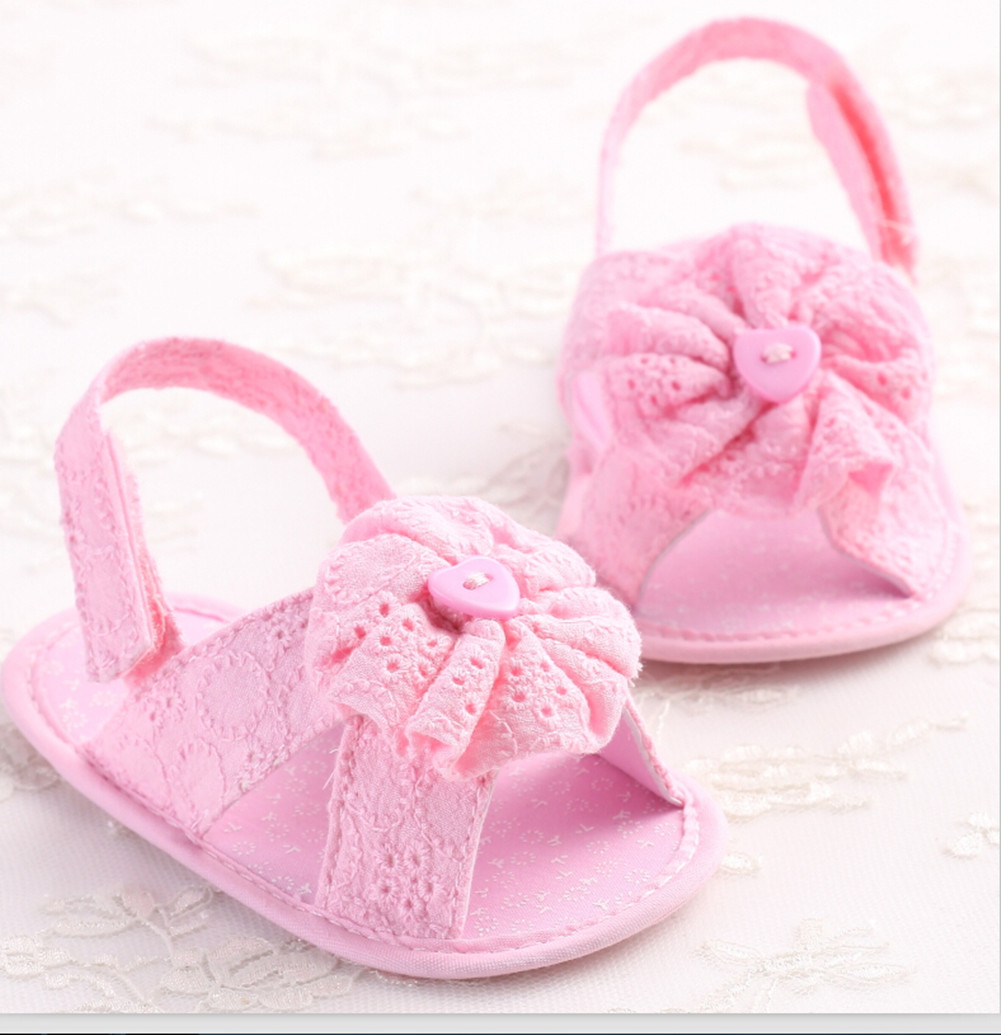a0c875d52 Hot Cute Newborn Baby Girls Crib Shoes Summer Toddler Infant Girl Flower  Shoes Crib trainer Shoes-in Crib Shoes from Mother   Kids on Aliexpress.com  ...