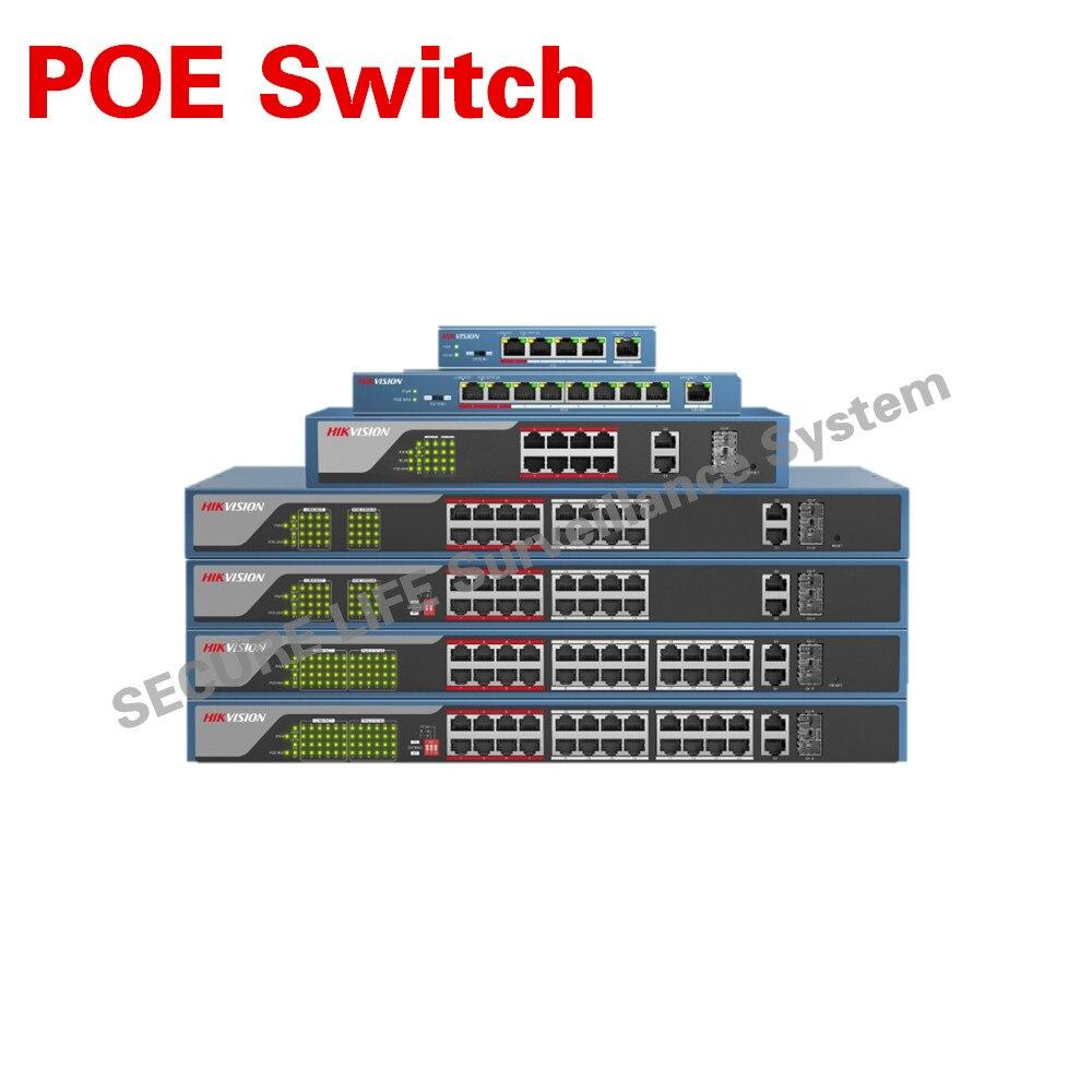 imágenes para En la acción Envío Libre DS-3E0105P-E DS-3E0109P-E DS-3E0318P-E DS-3E0326P-E 100 Mbps POE switch