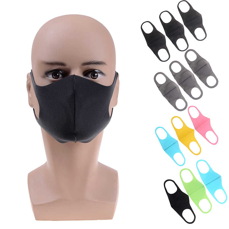 1 Anti-dust For Style Mask Unisex 3pcs Mouth Cotton Kpop Protective Facial Korean Face Kids Masks Cover Muffle Adult