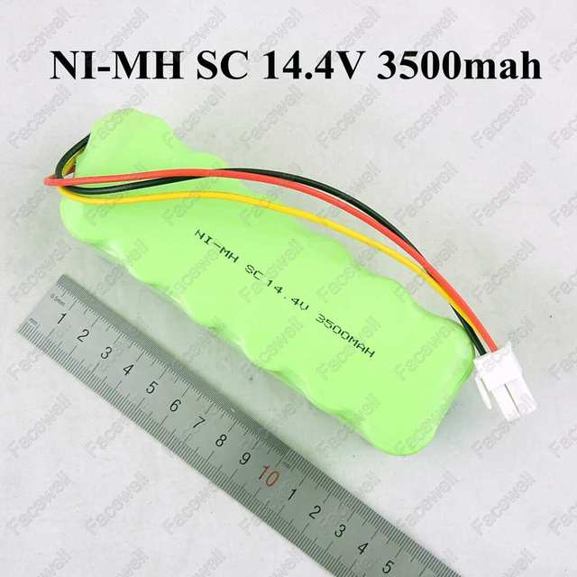 Brand 14.4v 3500mAh ni-mh rechargeable battery for vacuum cleaner battery powerpack Navibot SR8855 VCR8855L3B VCR8895 Silencio
