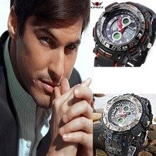 2016 Orologio Da Uomo EPOZZ Relojes Deportivos LED Display de Cuarzo Relojes Deportivos de Lujo montre homme Relojes s-shock Hombres Hodinky
