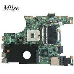 Darmowa wysyłka 07NMC8 laptop płyta główna dla dell inspiron 14 N4050 płyta główna 7NMC8 HM67 w/HD 6470M 1GB DDR3 w Płyty główne do laptopów od Komputer i biuro na
