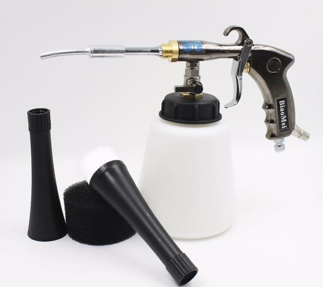 Z-020 air regulator Aluminium japanese steel bearing tube tornado gun for car washer tornador gun(1 whole gun+accessories)
