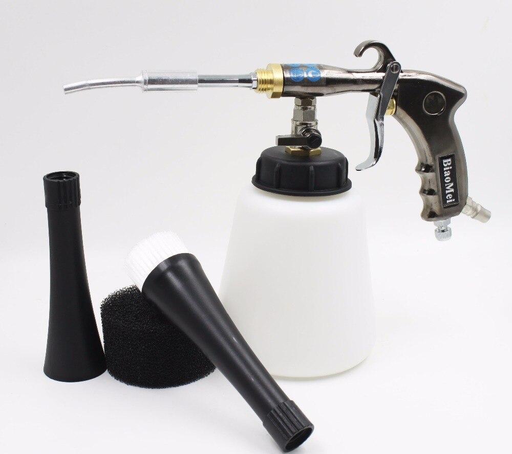 Z-regolatore aria In Alluminio tubo portante in acciaio giapponese tornador pistola per la rondella dell'automobile pistola tornado (1 tutta la pistola + accessori)